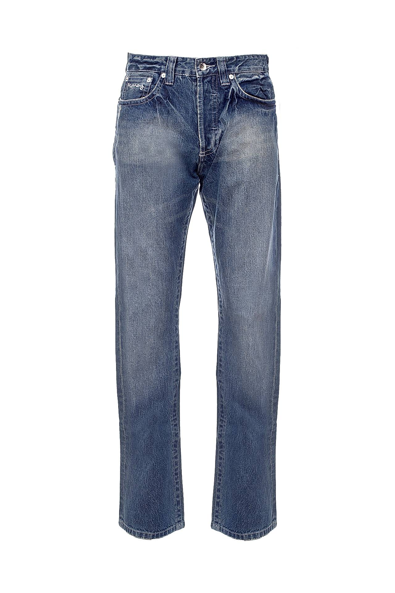 Джинсы MONEY playboy playboyjeans джинсы мужские slim leisure water wash прямые брюки молодежные корейские мужские брюки pb5114219 19 темные синие 34