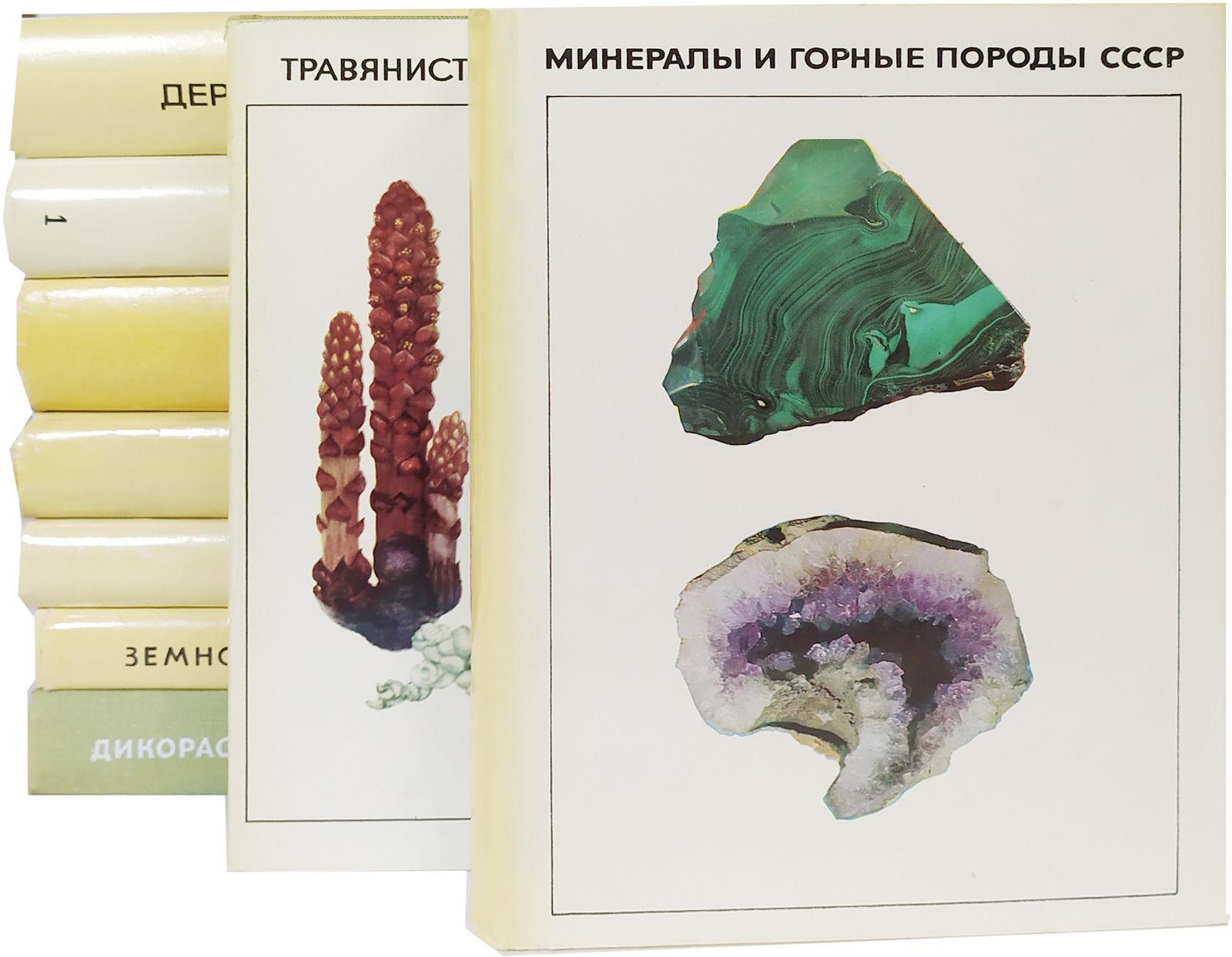Справочники-определители географа и путешественника (комплект из 9 книг)