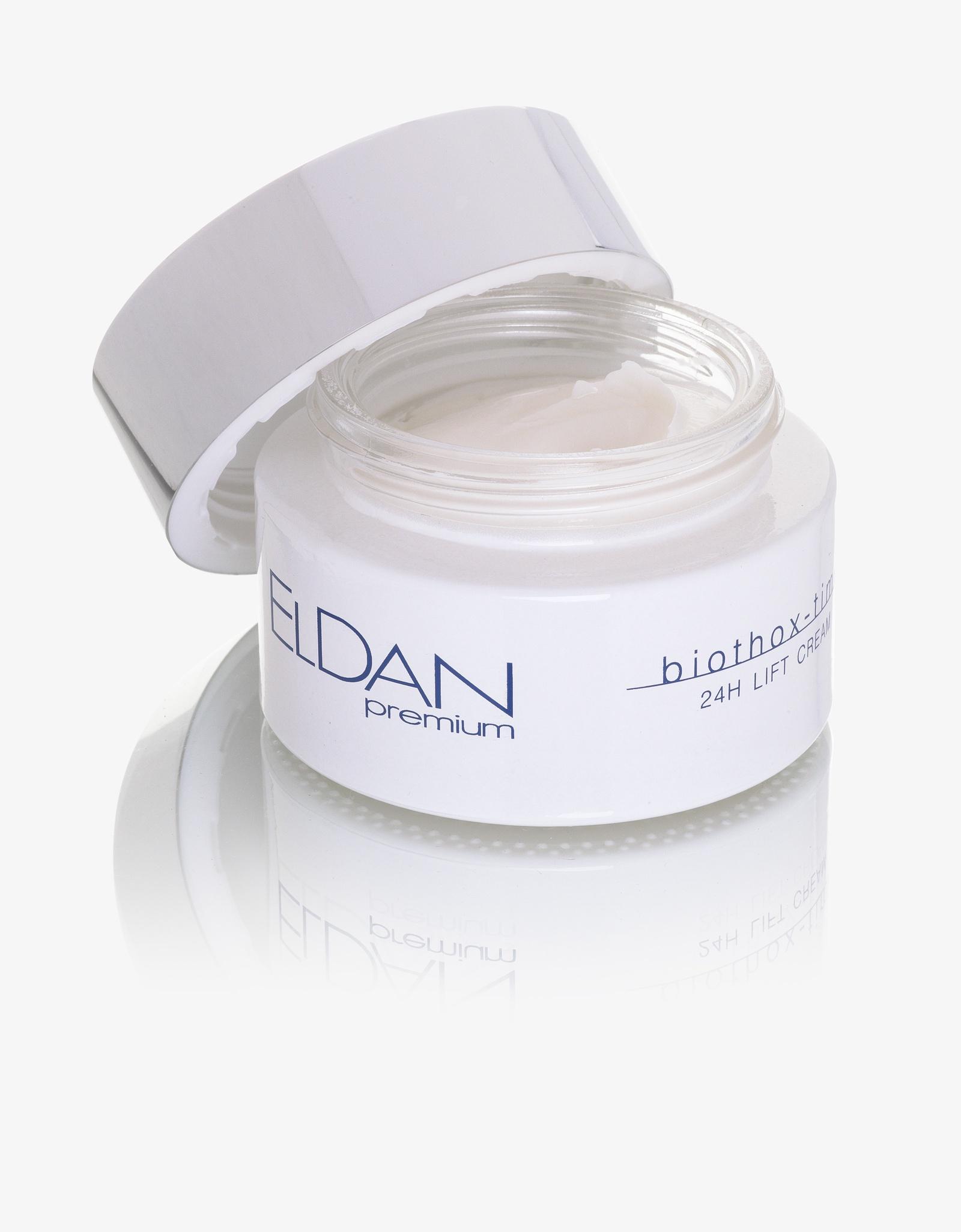 Лифтинг-крем 24 часа  Premium biothox time eldan cosmetics официальный отзывы