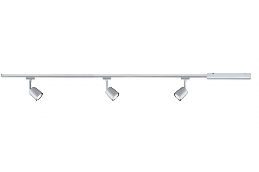 Потолочный светильник URail Cover max3x10W GU10, хром матовый 1m