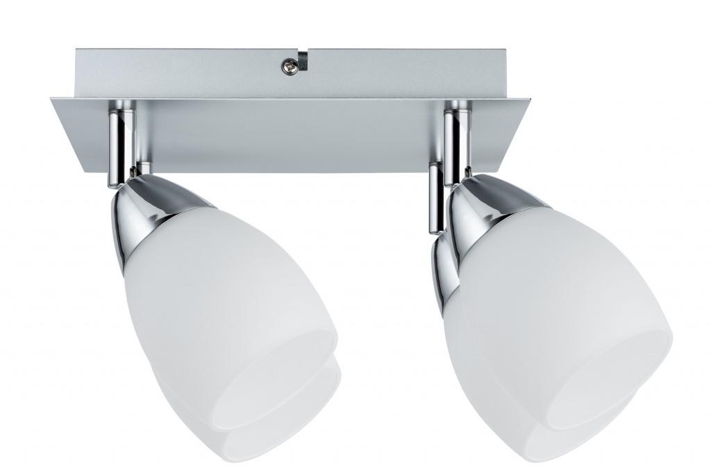 Потолочный светильник WolbaLED Balken 4x3W GU10, хром матовый