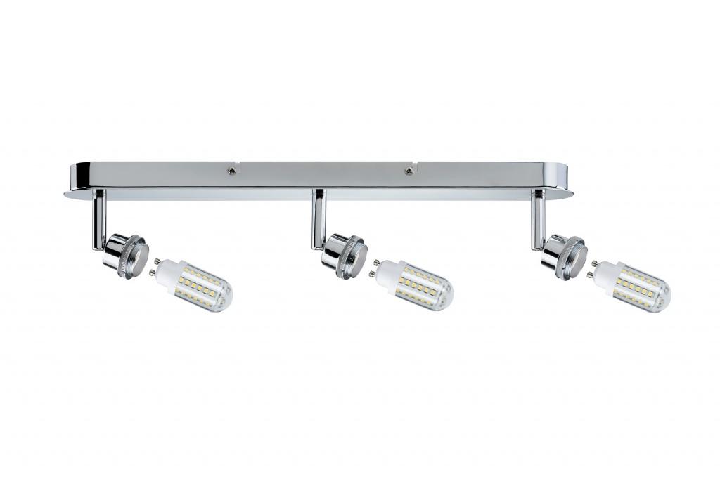 Потолочный светильник Deco LED Balken 3x3W GZ10, хром