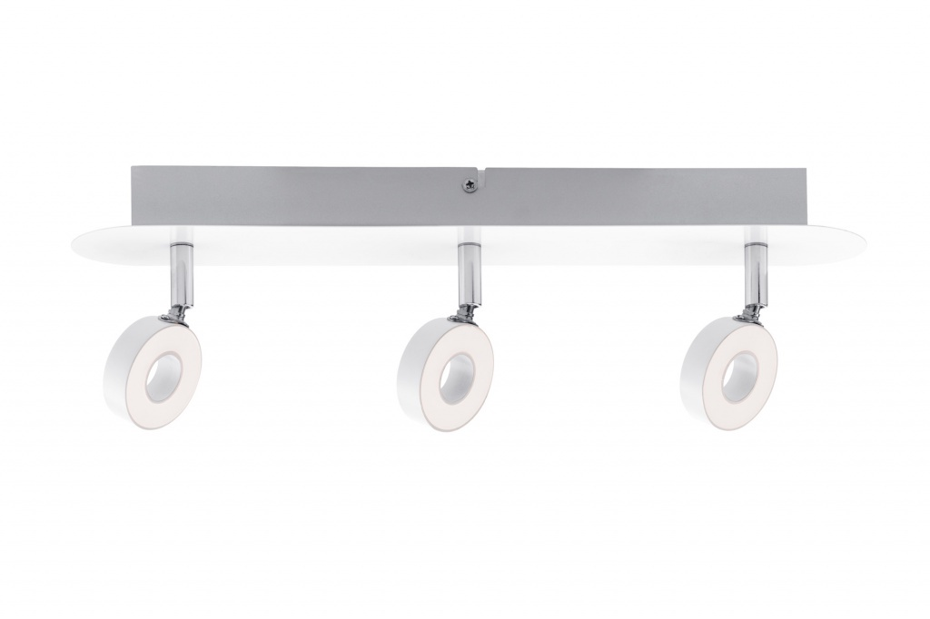 Потолочный светильник Donut LED 3x5W, хром