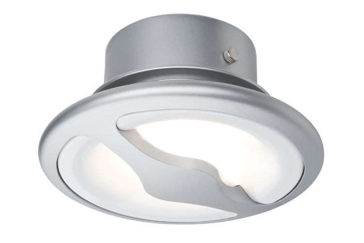 Встраиваемый светильник EBL Side LED schw. 1x13W Alu/Alu точечный светильник donolux sa1522 alu