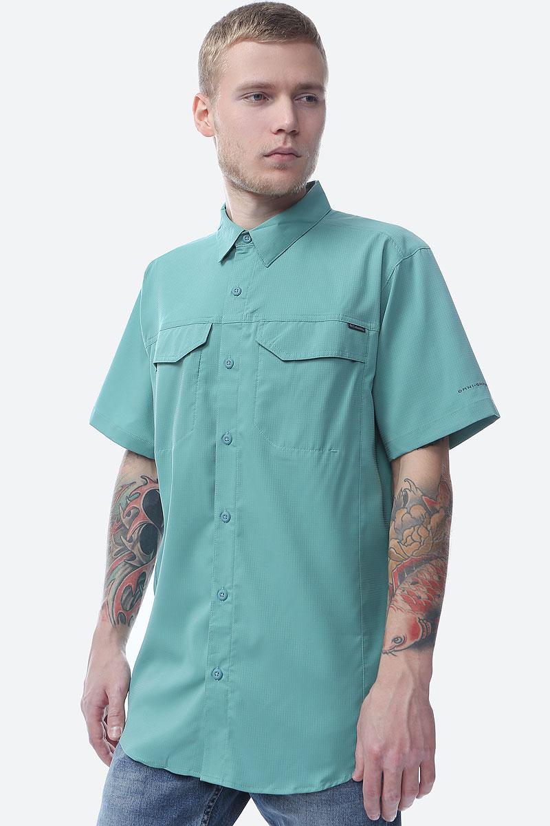 Рубашка Columbia Silver Ridge Lite SS Shirt рубашка мужская columbia cape side solid ss shirt цвет темно синий 1715241 469 размер m 46 48