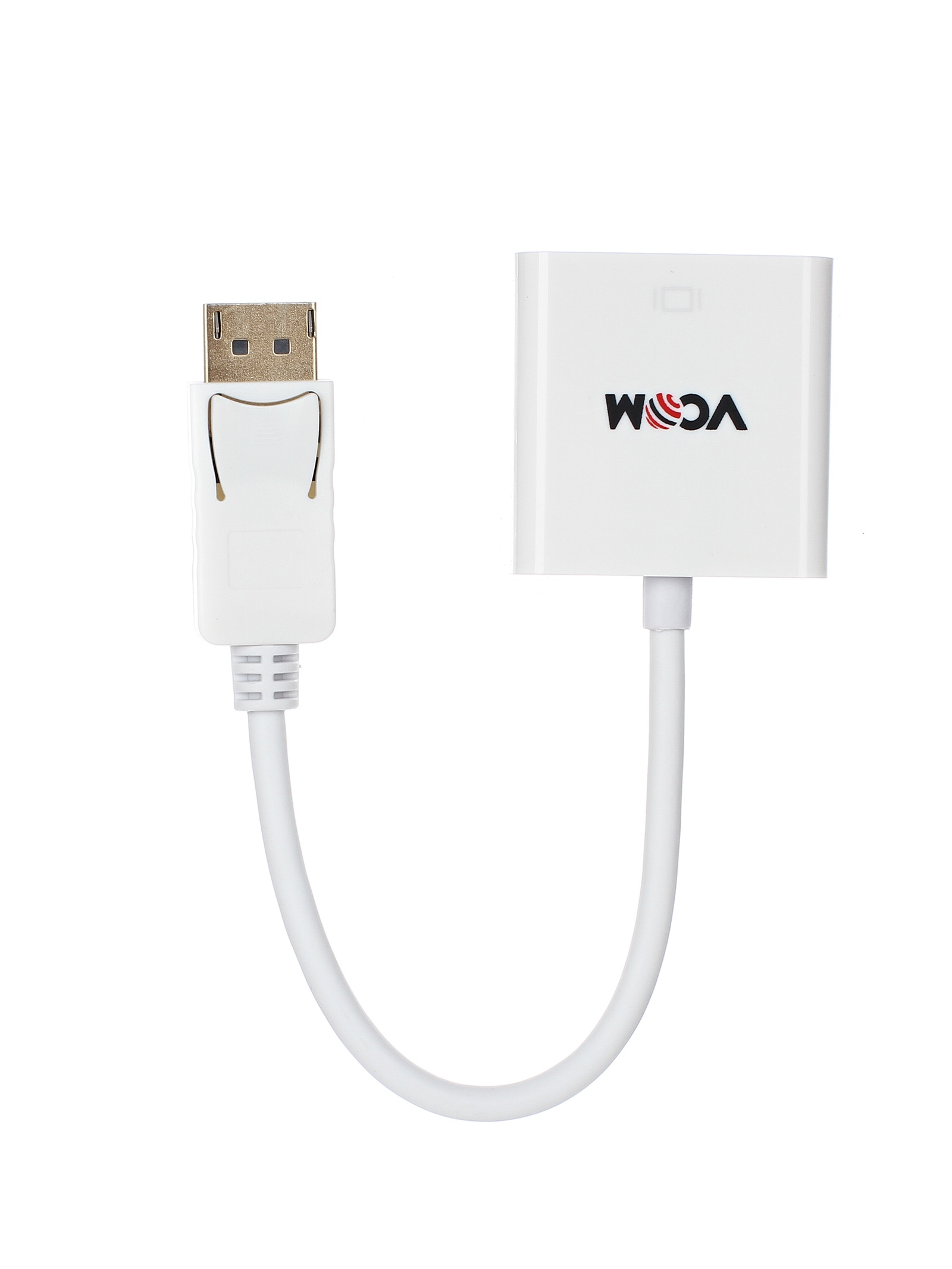 Кабель-переходник DisplayPort (M) to HDMI (F) 0.1m VCOM (CG553) аксессуар переходник питания vcom 1big to 2xsata vpw7572