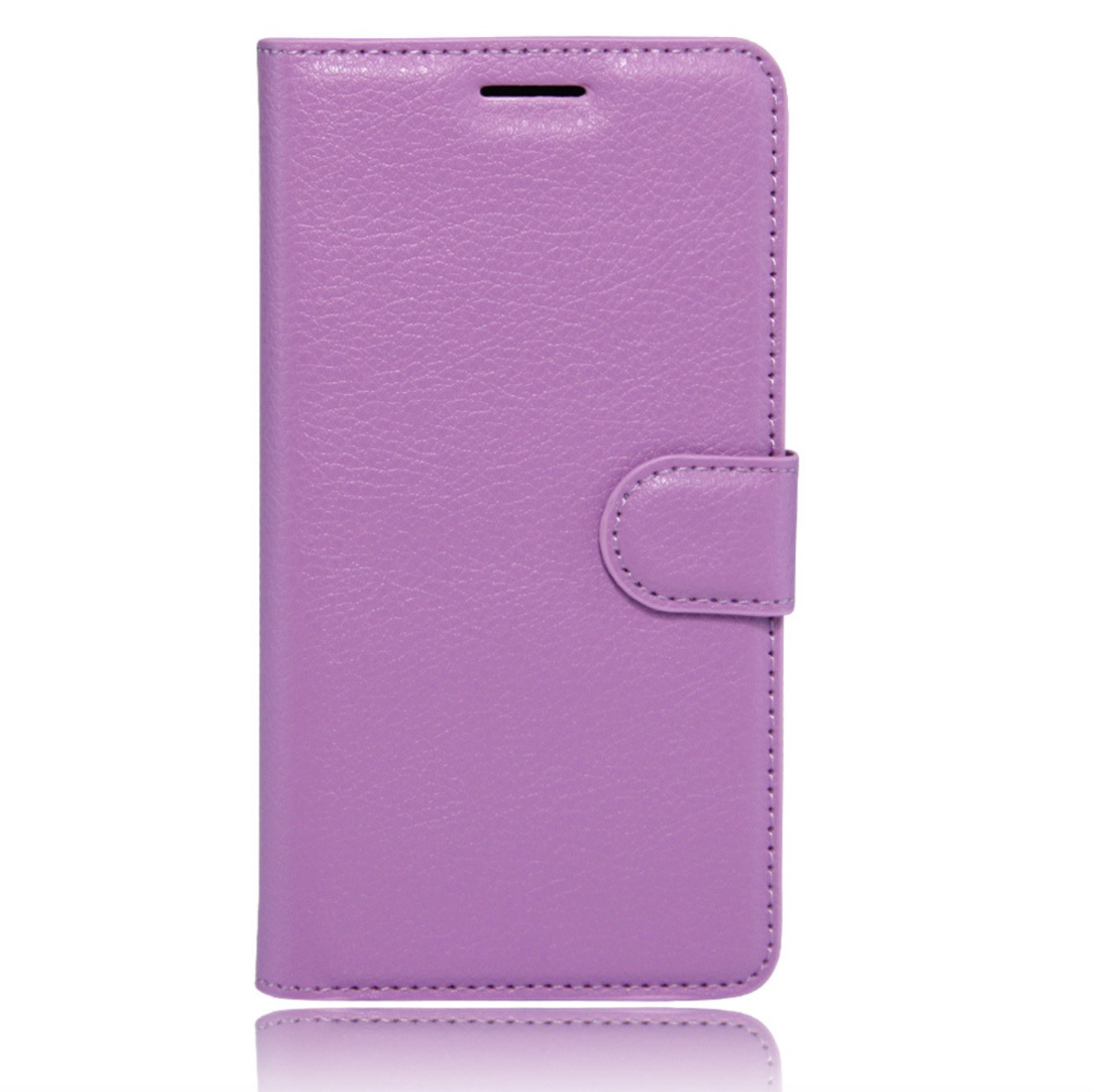 Чехол-книжка MyPads для LG Bello 2/ Prime 2 X155 с мульти-подставкой застёжкой и визитницей фиолетовый lg max x155