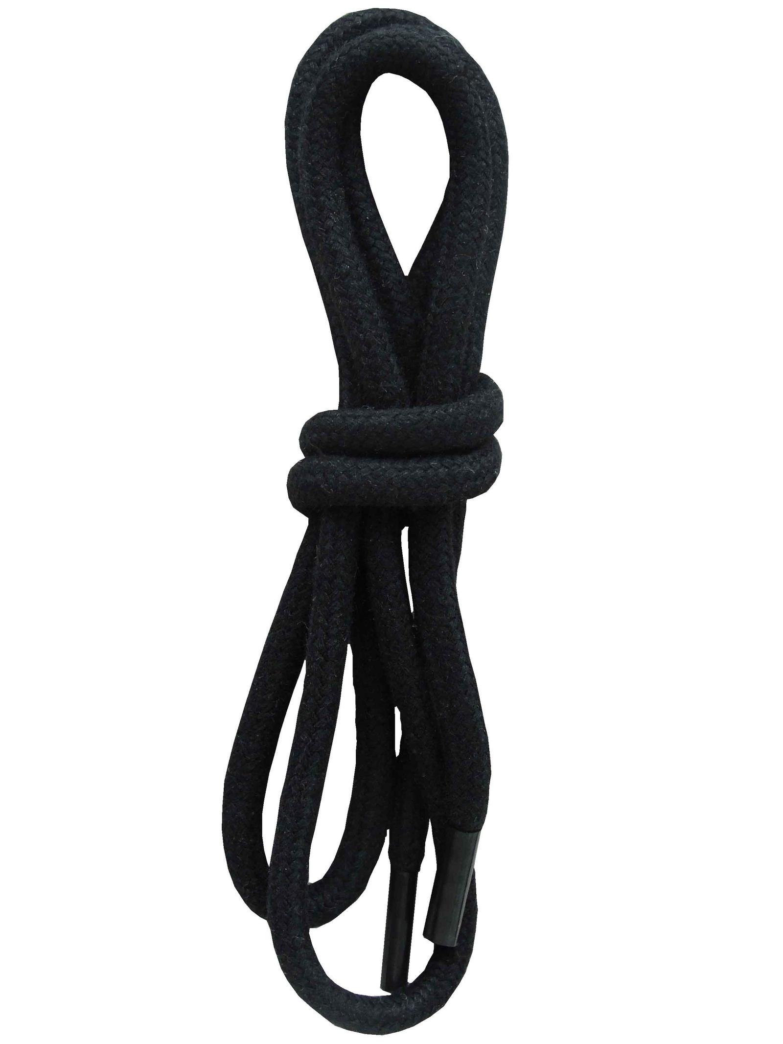 Шнурки ОРИОН 150см толстые черные
