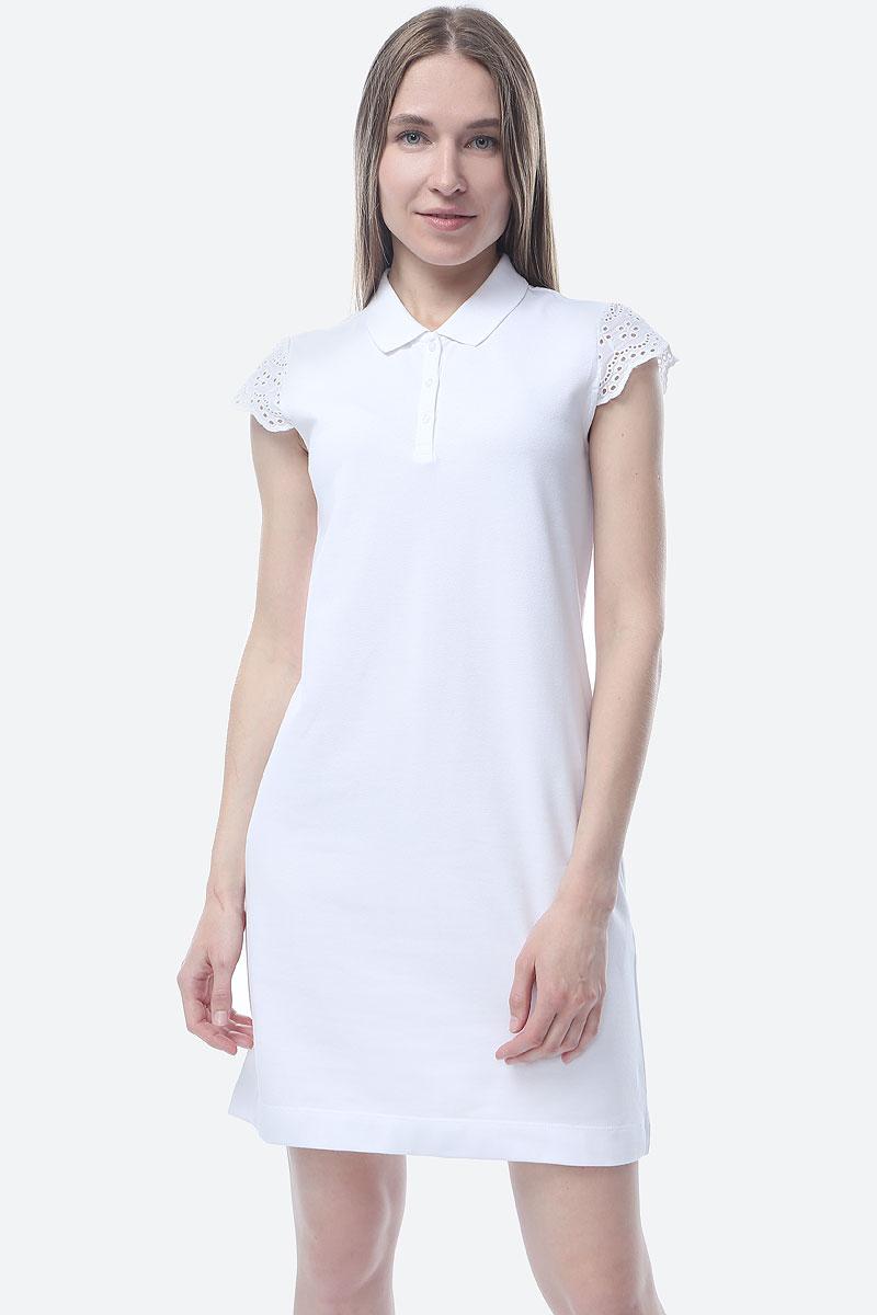 цена на Платье S.Oliver Red Label, цвет: белый. 14.904.82.2010_0100. Размер 40 (46/48)