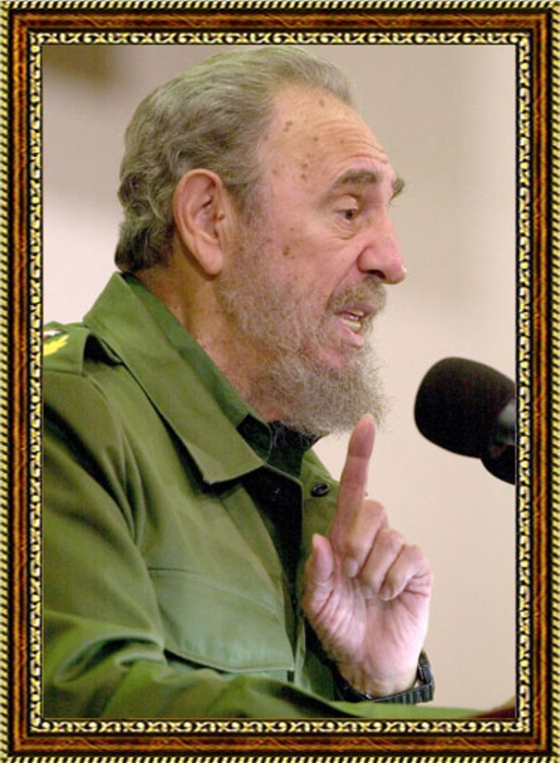 Портрет Фиделя Кастро - 1