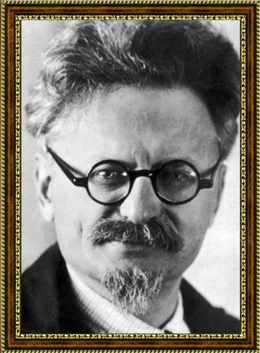 Портрет революционера Льва Троцкого - 1