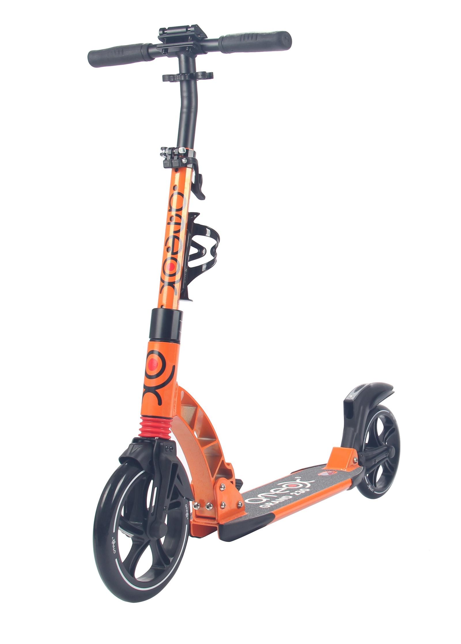 Самокат для взрослых Аteox GRAND 230 (Оранжевый)