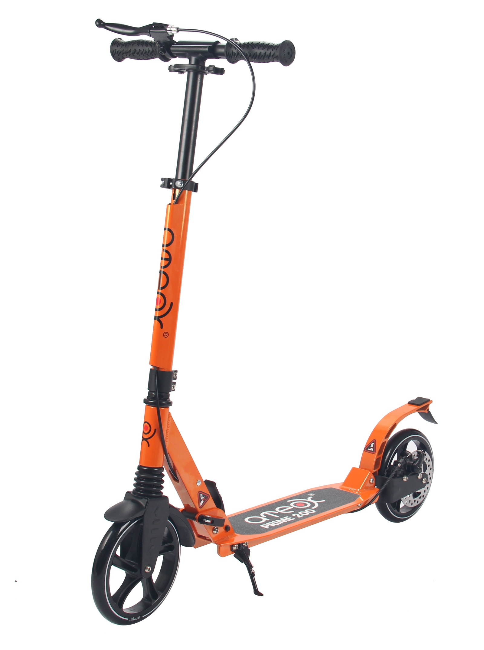 Самокат для взрослых Аteox PRIME 200 (Оранжевый)