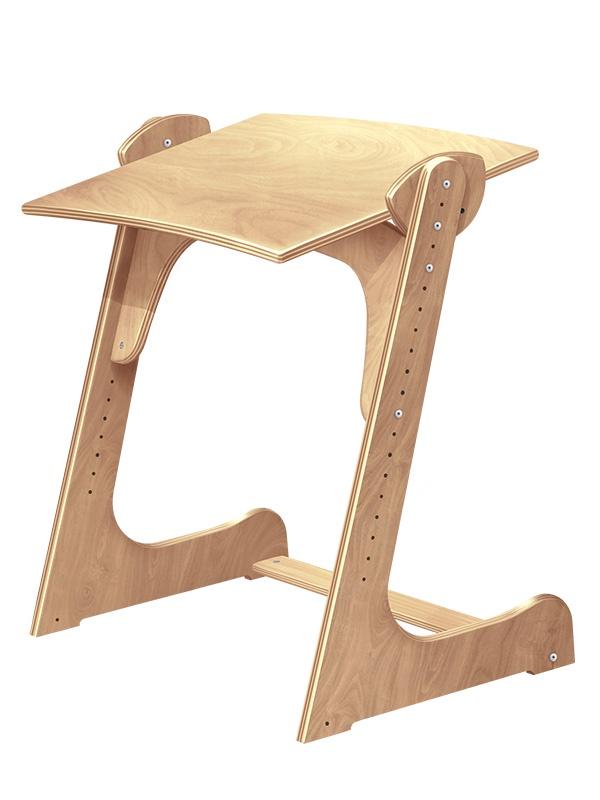 Растущая стол - парта Конёк Горбунёк (цвет столешницы: сандал, цвет ножек стола: сандал) подушки конек горбунек конек горбунек