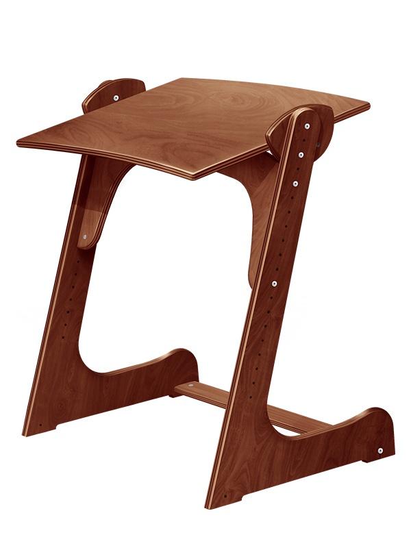 Растущая стол - парта Конёк Горбунёк (цвет столешницы: тик, цвет ножек стола: тик) подушки конек горбунек конек горбунек