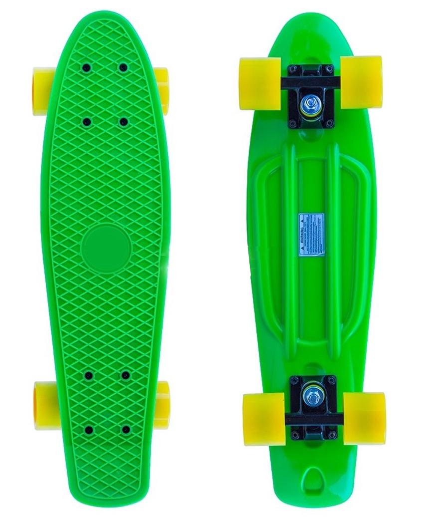PW-506 Скейтборд пластиковый 22x6