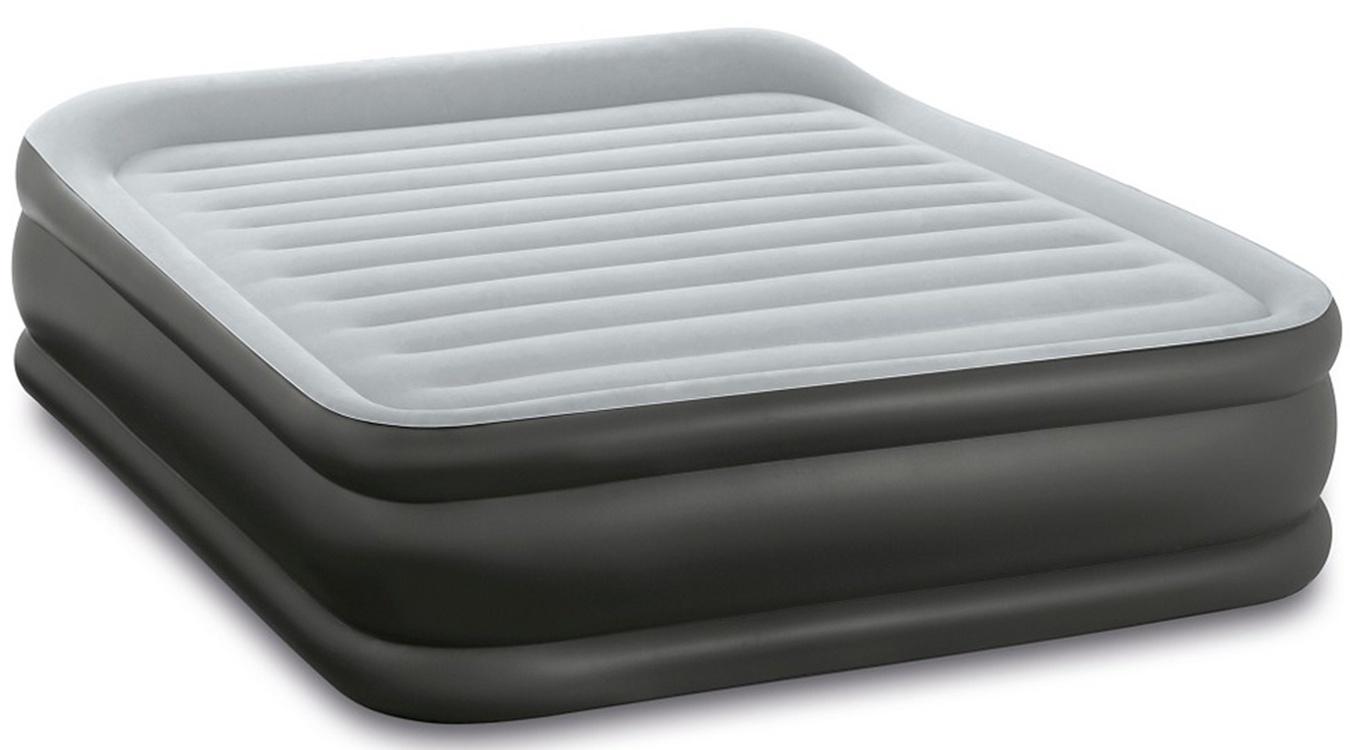 64140 Надувная кровать Essential Rest Airbed, Queen, со встроенным насосом, 152*203*51 см INTEX алкотест 203 инструкция