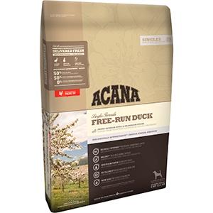ACANA Free-Run Duck корм для щенков и взрослых собак всех пород, с уткой 6кг