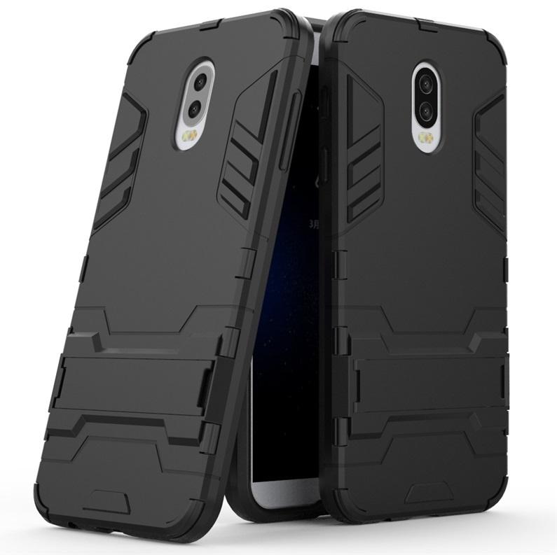 Чехол MyPads для Samsung Galaxy C7 Противоударный усиленный ударопрочный черный