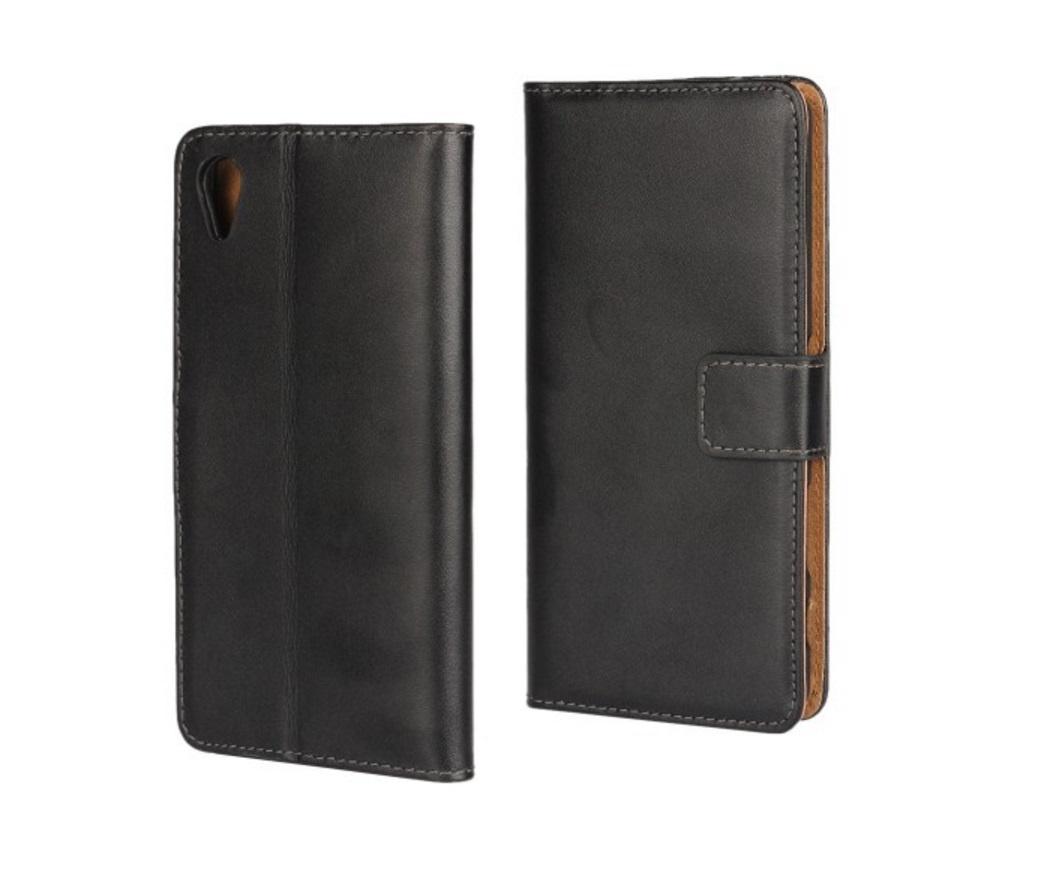 "Чехол-книжка MyPads для Sony Xperia X / X Dual 5.0"" (F5121 / F5122)  с мульти-подставкой застёжкой и визитницей черный"