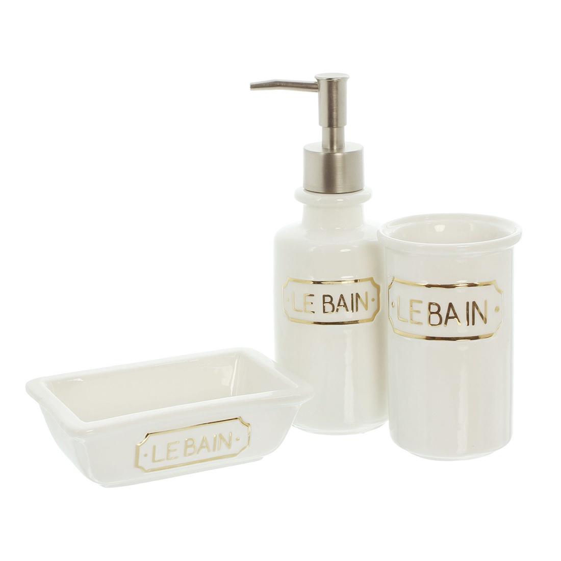 """Набор для ванной комнаты """"Le Bain"""", 3 предмета"""
