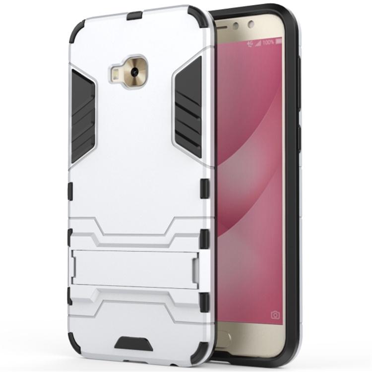 Чехол MyPads для ASUS ZenFone 4 Selfie Pro ZD552KL Противоударный усиленный ударопрочный серебристый цена и фото
