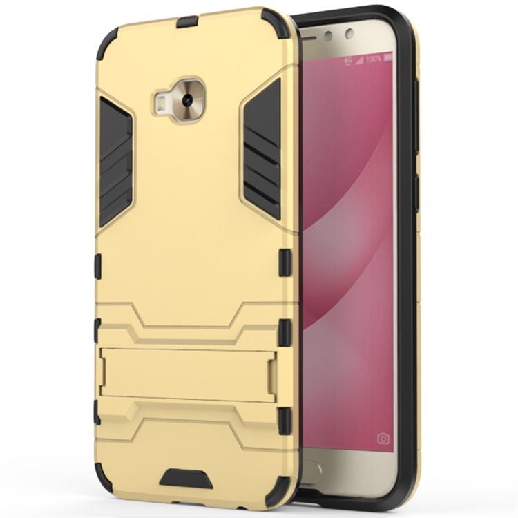 Чехол MyPads для ASUS ZenFone 4 Selfie Pro ZD552KL Противоударный усиленный ударопрочный золотой цена и фото
