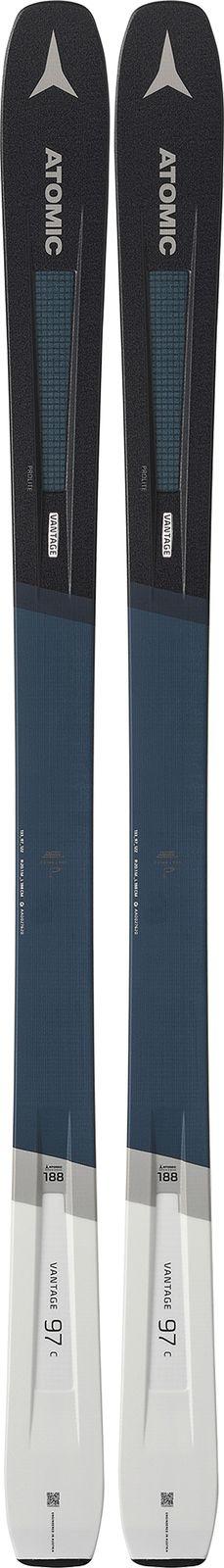 Горные лыжи Atomic Vantage 97 C, AA0027620188, синий, серый, рост 188 см
