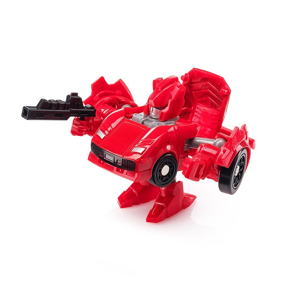 """Мини трансформер """"Спортивная машина"""" FindusToys красный"""