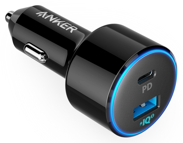 АЗУ Anker PowerDrive II PD with 1 PD and 1 PIQ