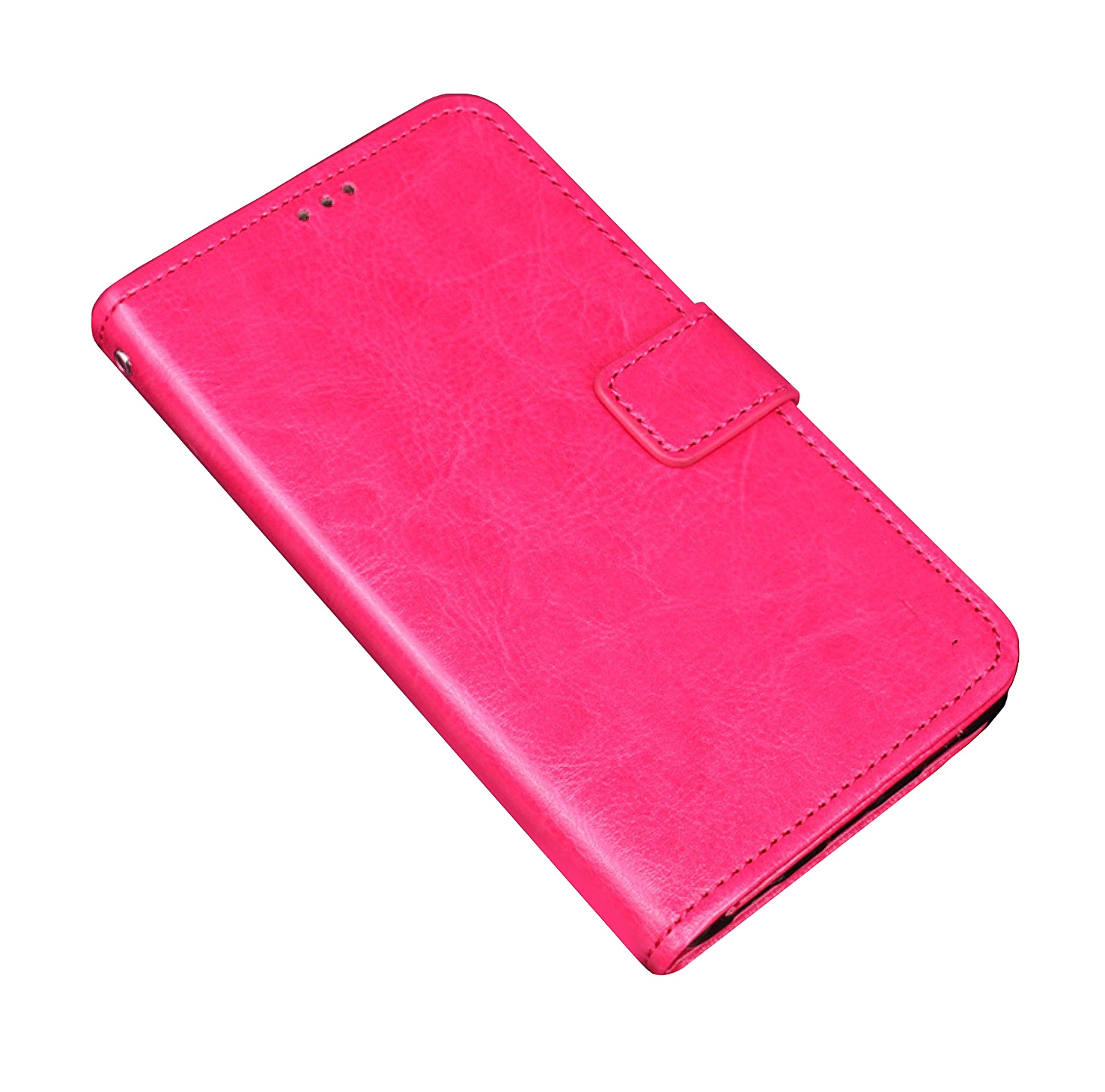 Чехол-книжка MyPads для Philips Xenium X818 / Philips X818 с мульти-подставкой застёжкой и визитницей розовый цена и фото