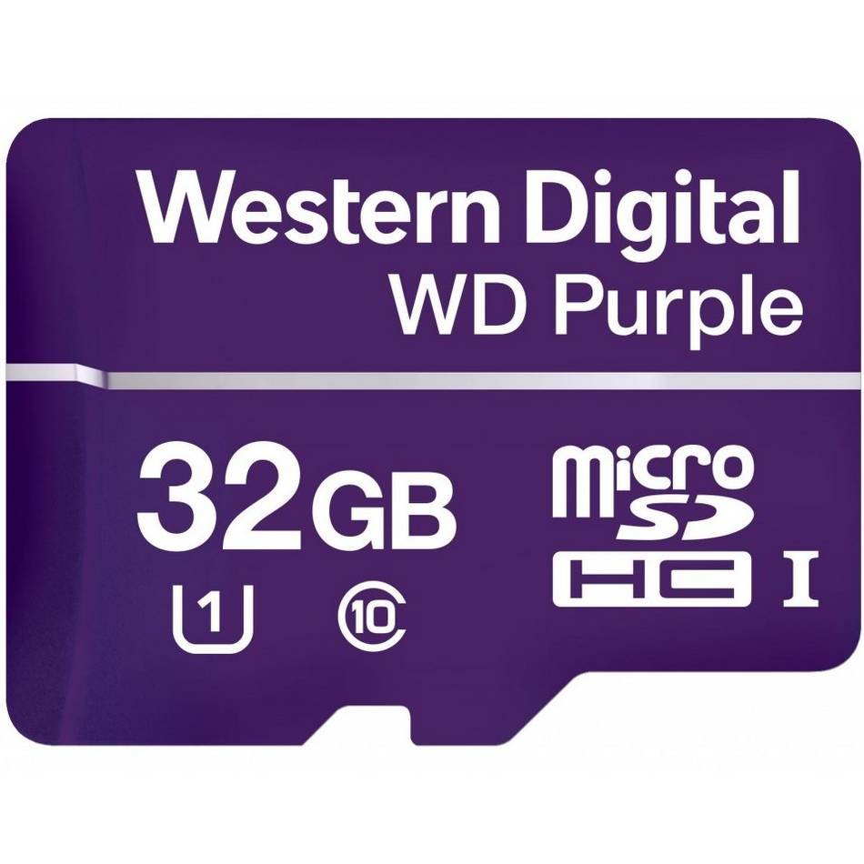 Карта памяти WD microSDHC WDD032G1P0A , Class10, 32Gb
