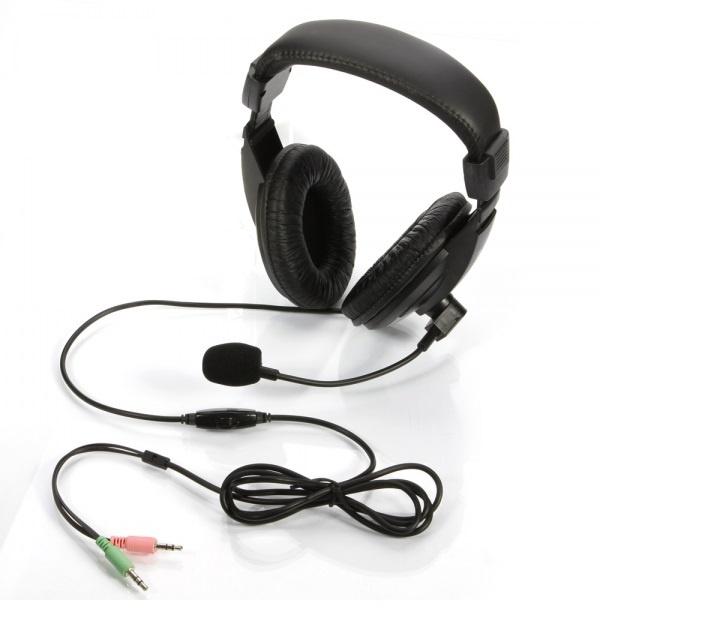 Гарнитура DREAM DRM-L750MV с микрофоном, цвет чёрный
