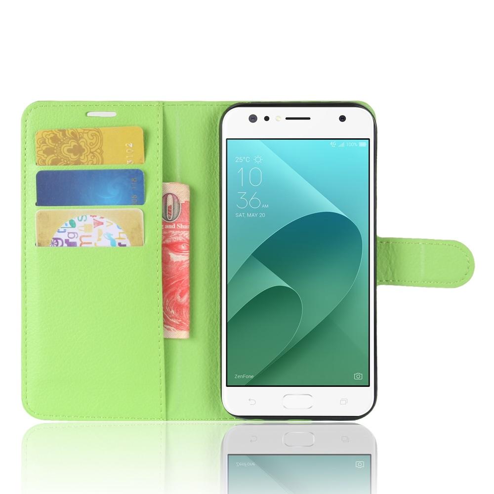 Чехол-книжка MyPads для ASUS ZenFone 4 Selfie ZD553KL с мульти-подставкой застёжкой и визитницей зеленый чехол книжка mypads для asus zenfone 4 selfie pro zd552kl с мульти подставкой застёжкой и визитницей зеленый