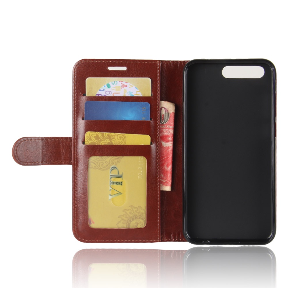 Чехол-книжка MyPads для ASUS ZenFone 4 Pro ZS551KL с мульти-подставкой застёжкой и визитницей коричневый чехол книжка mypads для asus zenfone 4 selfie pro zd552kl с мульти подставкой застёжкой и визитницей зеленый