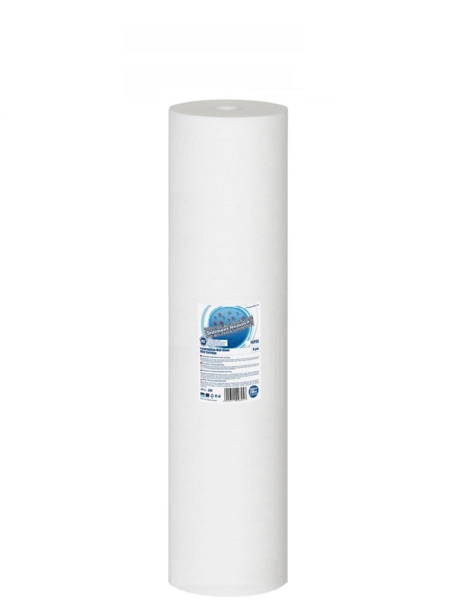 Картридж из вспененного полипропилена 20BB - 5 мкм, Aquafilter FCPS5M20B, 620