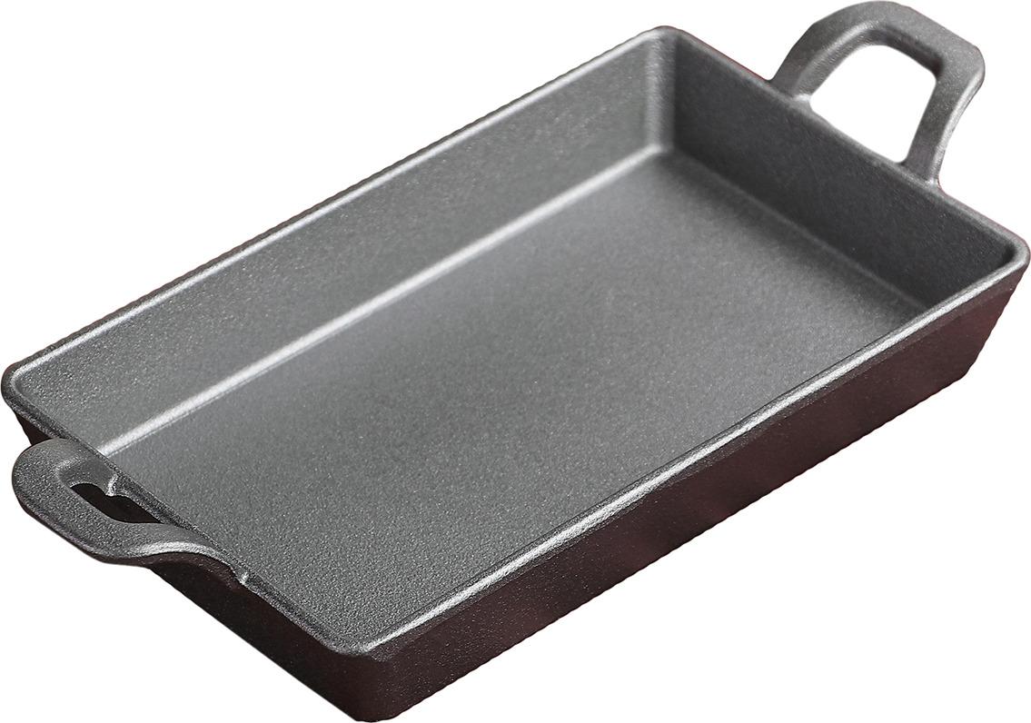Сковорода, 3602522, черный, 20 х 12,5 х 3 см