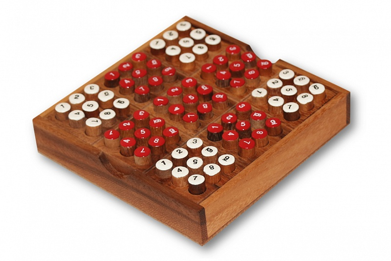 Игра - головоломка Судоку (Thai wood) игра головоломка recent toys судоку шар