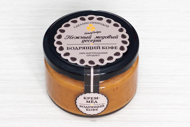 Нежный медовый десерт HoneyForYou Бодрящий кофе