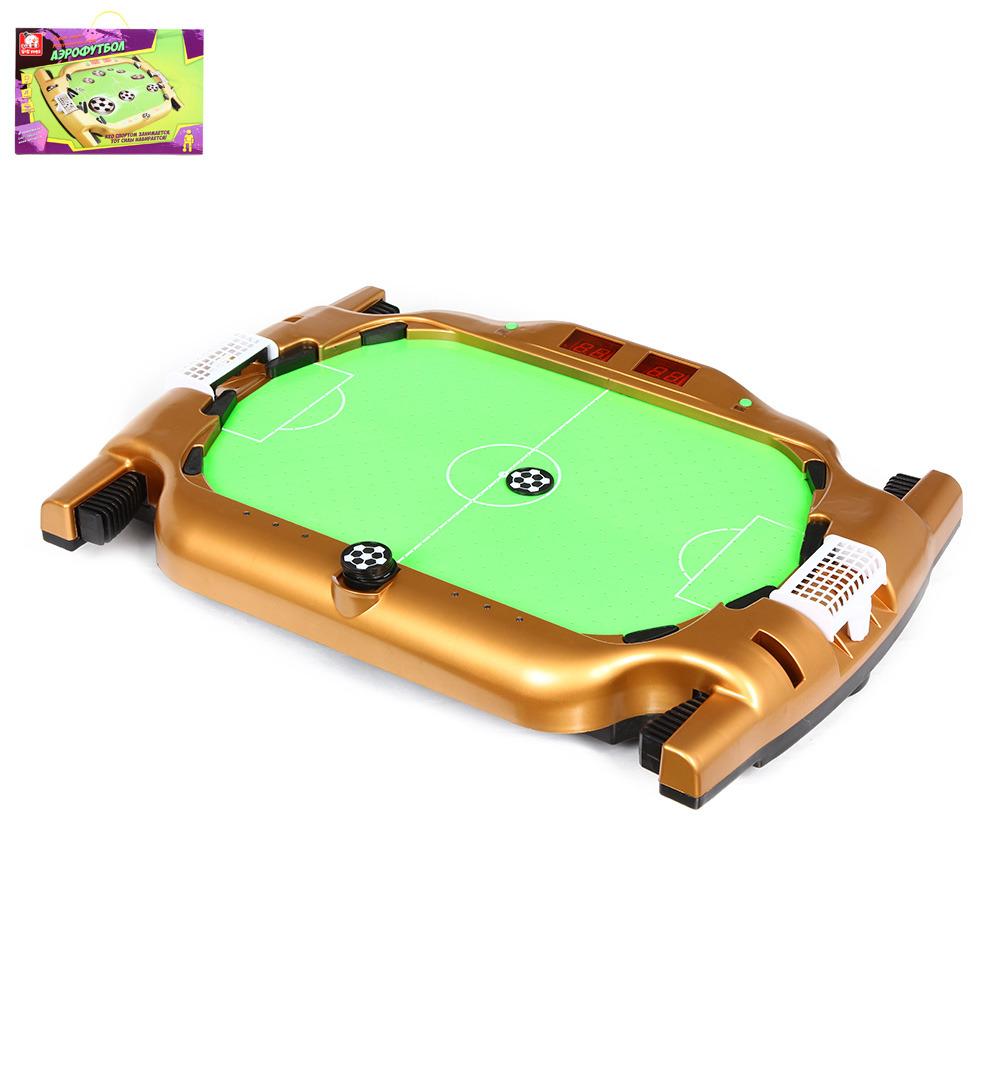 Настольная игра S+S Toys Аэрофутбол, SS-00693957 настольная игра s s toys сумашедшее ведро 200153749 1124626