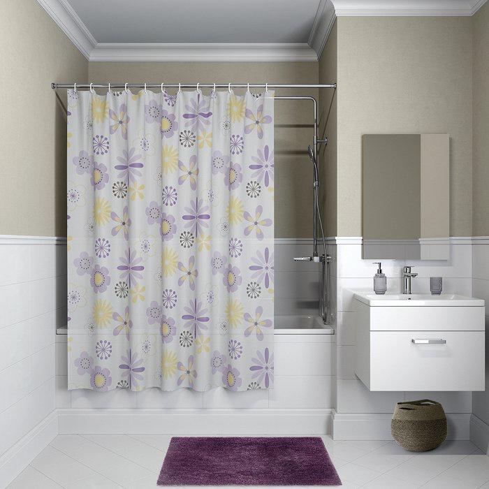 Штора для ванной комнаты, 180*180см, PEVA, P03PV11i11, IDDIS