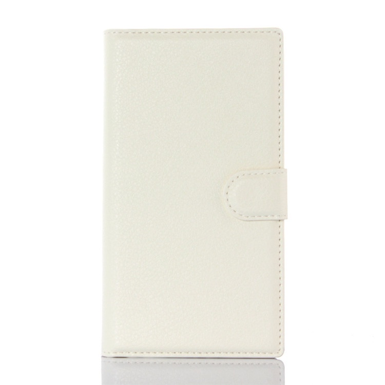 цена на Чехол-книжка MyPads для BlackBerry Priv с мульти-подставкой застёжкой и визитницей белый