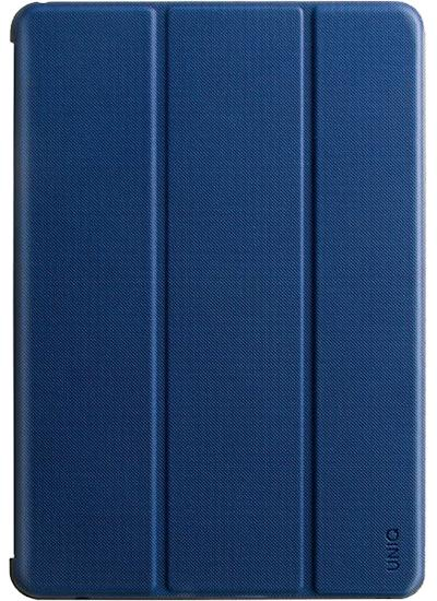 Фото - Чехол Uniq для iPad Mini 5 Transforma Rigor с отсеком для стилуса Blue чехол книжка uniq tri fold rigor для apple ipad 9 7 2018 красный