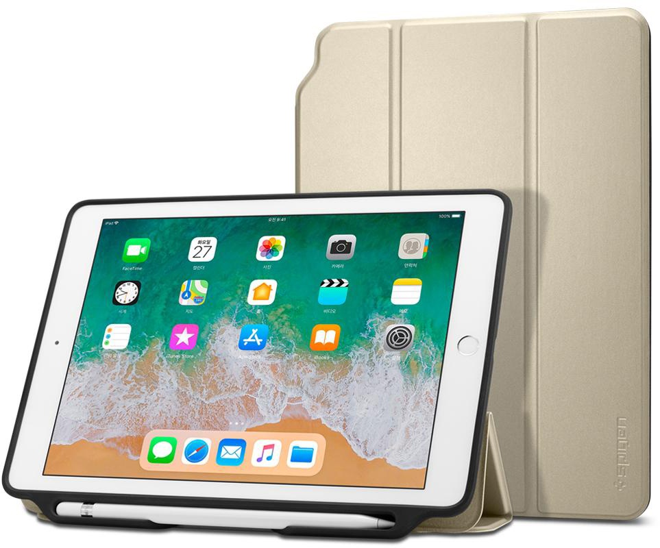 "Чехол - книжка Spigen Smart Fold 2, gold - iPad 9.7"" 2017/2018"