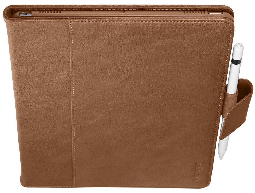 Чехол - книжка Spigen Stand Folio, brown - iPad Air/Pro 10.5 чехол incipio для ipad air flagship folio черный ipd 336 blk