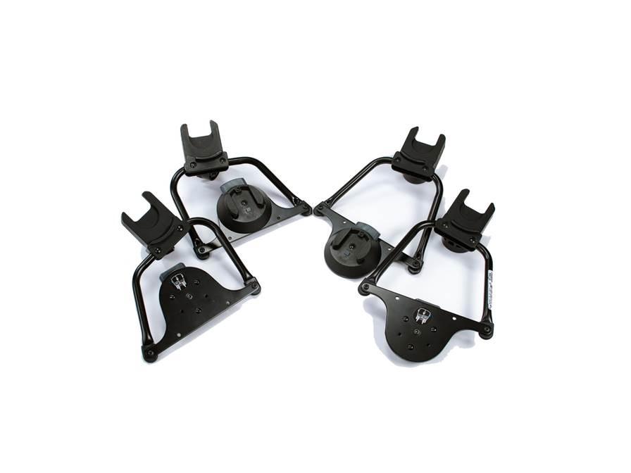 Bumbleride Адаптер Maxi-Cosi/Cybex для Indie Twin адаптер bumbleride для коляски indie twin car seat adapter single нижний