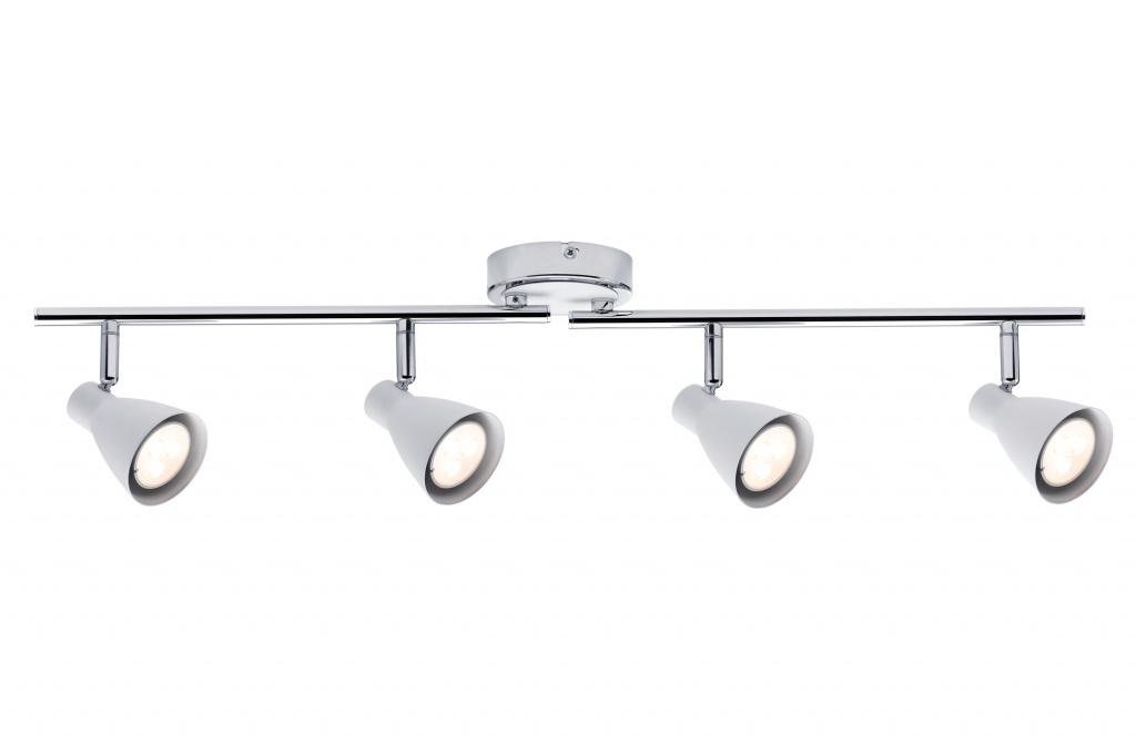 Потолочный светильник Спот 2Simple 4x3,5W GU10 белый/хром
