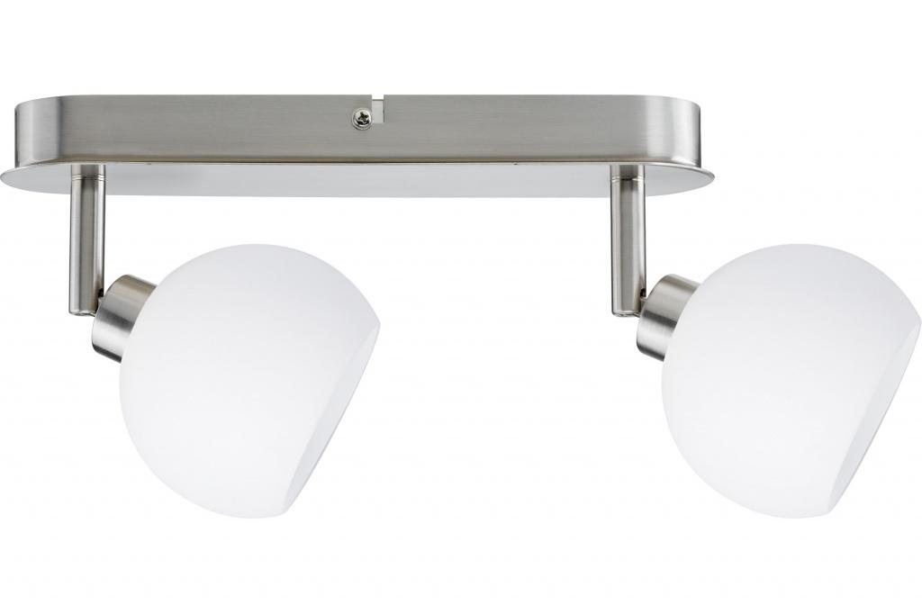 Потолочный светильник Wolbi LED Balken 2x3W GZ10 Eis-g/Ws спот paulmann wolbi 60299