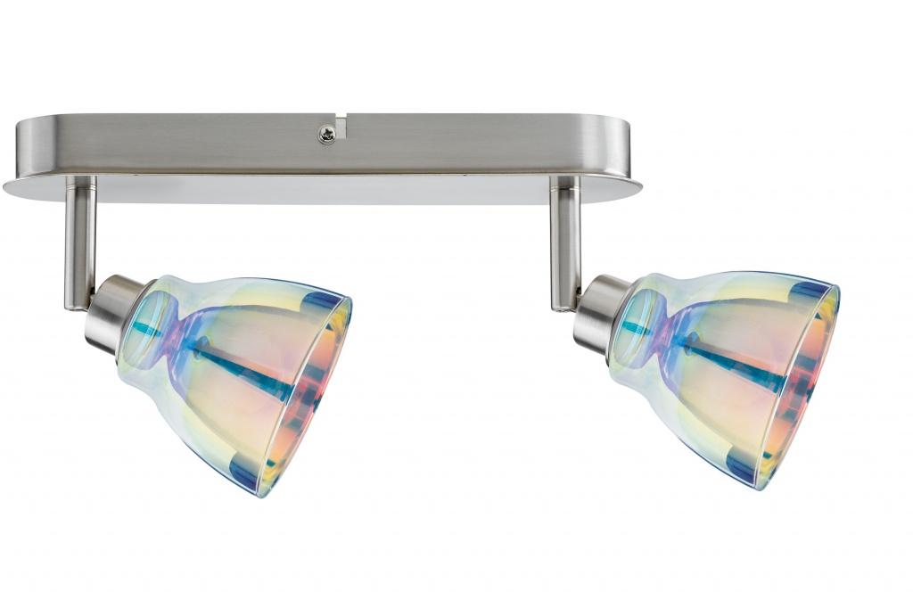 Потолочный светильник SL Wolbi LED Balken 2x3,5W GZ10 Eis-g/Di спот paulmann wolbi 60299