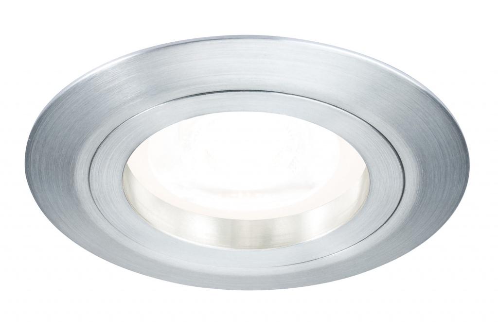 Встраиваемый светильник PremEBL Drilled Alu rd starr dim LED 3x6 цена